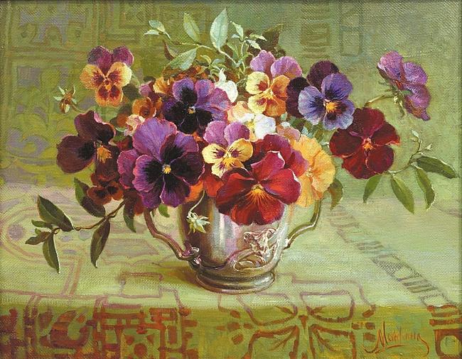 Cvety v zhivopisi