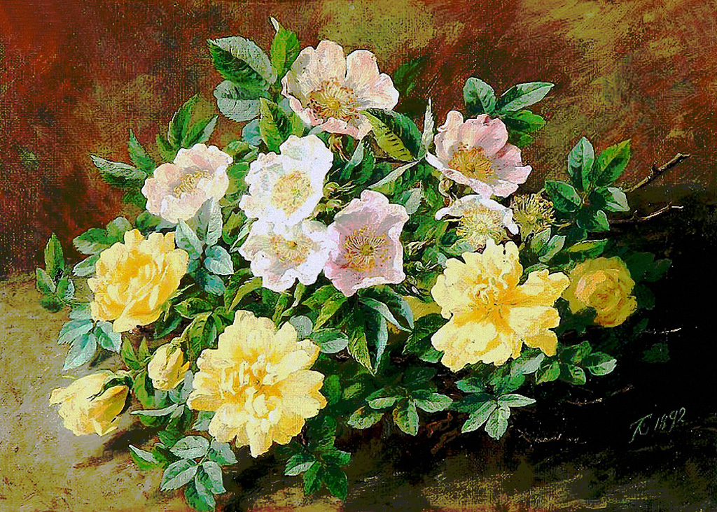 Anthonore-Christensen-Yellow-and-pink-flowers.jpg